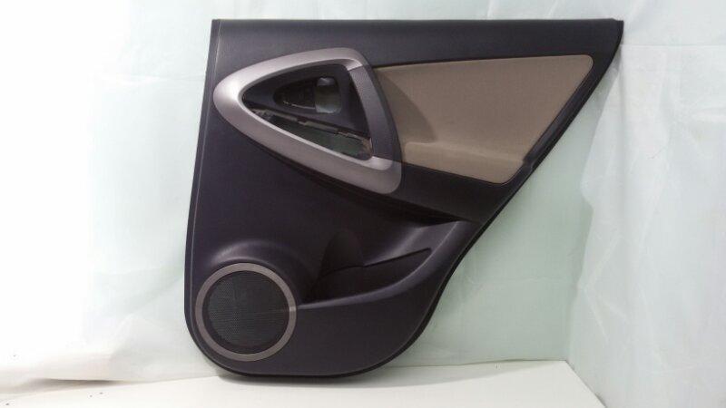 Обшивка двери Toyota Rav4 ACA30 1AZ-FE 2007 задняя правая
