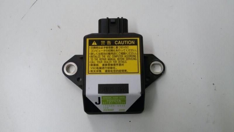 Датчик курсовой устойчивости Toyota Rav4 ACA30 1AZ-FE 2007