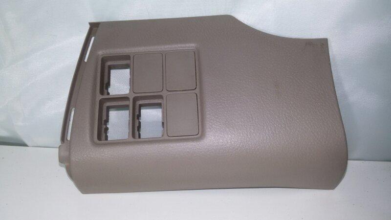 Накладка на консоль Toyota Rav4 ACA30 1AZFE 2007 передняя левая