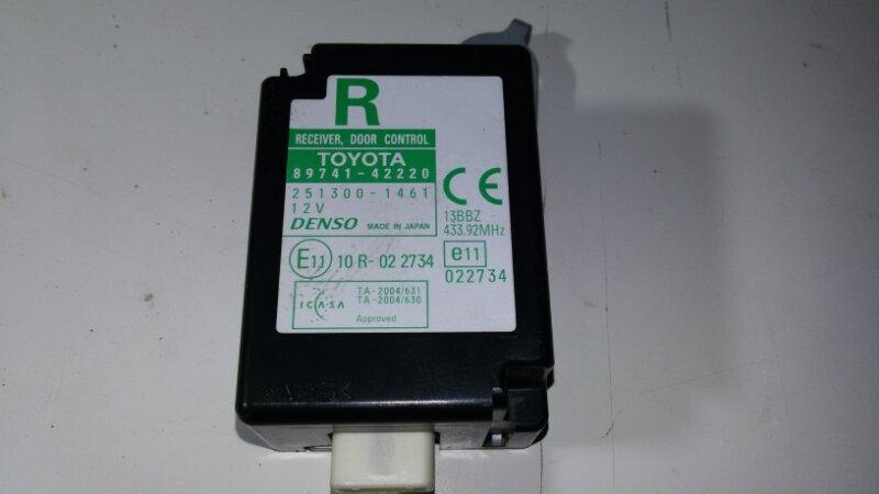 Блок управления дверями Toyota Rav4 ACA30 1AZFE 2007 задний правый