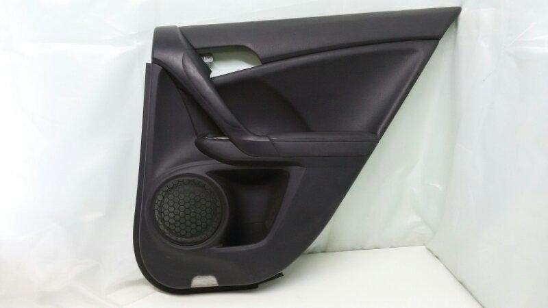 Обшивка двери Honda Accord CU2 K24Z3 2008 задняя правая