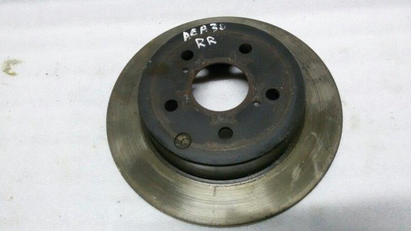 Диск тормозной Toyota Rav4 ACA30 1AZ-FE 2007 задний