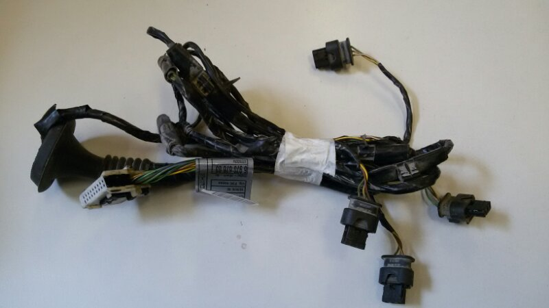 Электропроводка Bmw X5 E70 M57TU2D30 2008 задняя