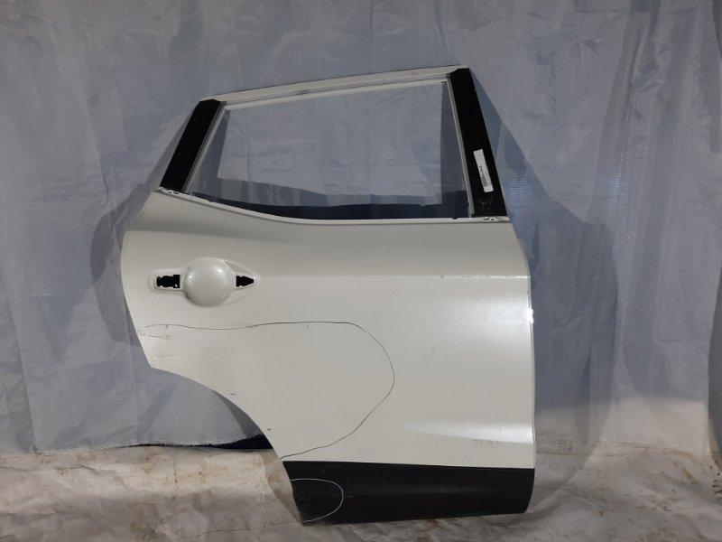 Дверь боковая Nissan Qashqai J11 H5FT, HRA2DDT, K9K, MR16DDT, MR20DD, R9M 2017 задняя правая