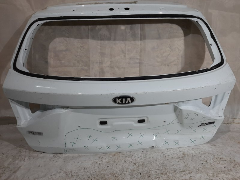 Дверь багажника Kia Rio FB G4FG, G4LC 2018