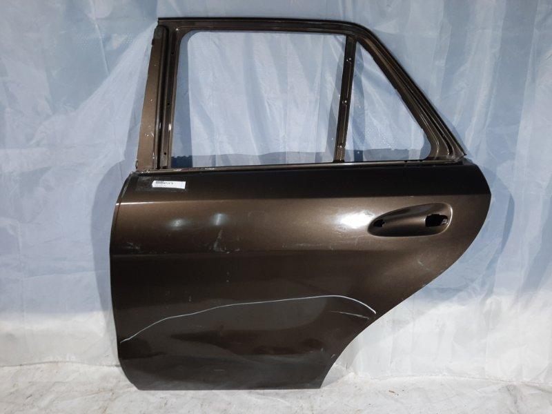 Дверь боковая Mercedes-Benz Gle-Class X166 M157DE55LA, M276DE30LA, M276DE35, M651D22G4, OM642, M278DE46LA 2016 задняя левая