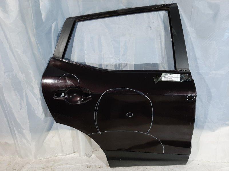 Дверь боковая Nissan Qashqai J11 H5FT, HRA2DDT, K9K, MR16DDT, MR20DD, R9M 2014 задняя правая