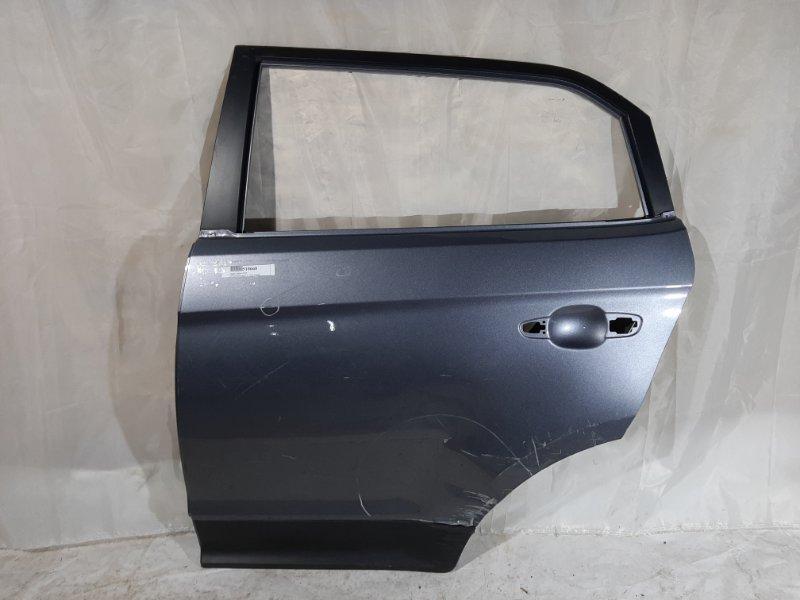 Дверь боковая Hyundai Creta GS G4FG, G4NA 2018 задняя левая