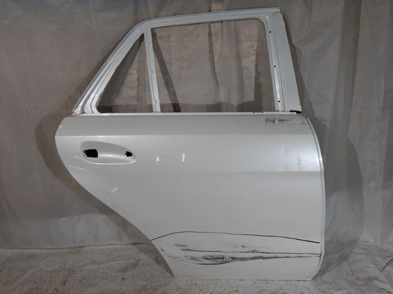 Дверь боковая Mercedes-Benz Gle-Class X166 M157DE55LA, M276DE30LA, M276DE35, M651D22G4, OM642, M278DE46LA 2017 задняя правая