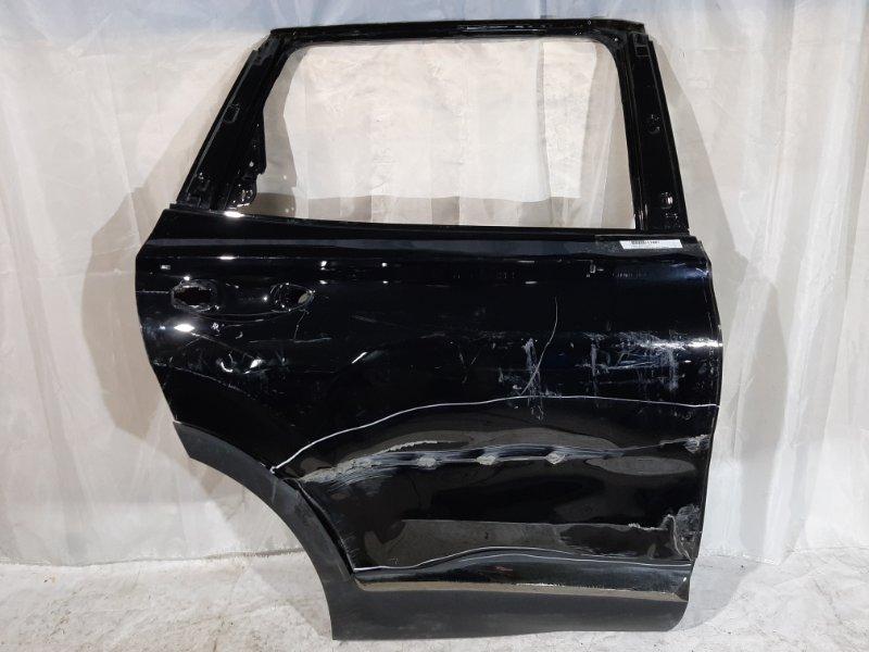 Дверь боковая Hyundai Santa Fe TM 2019 задняя правая
