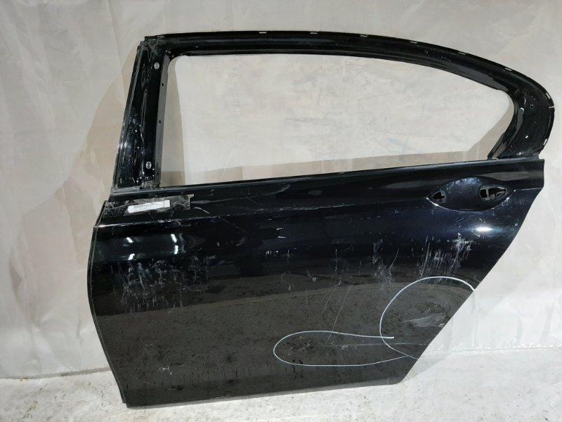 Дверь боковая Bmw 7-Series F02, F04 N52B30, N55B30, N57D30, N57D30TOP, N63B44, N74B60 2012 задняя левая