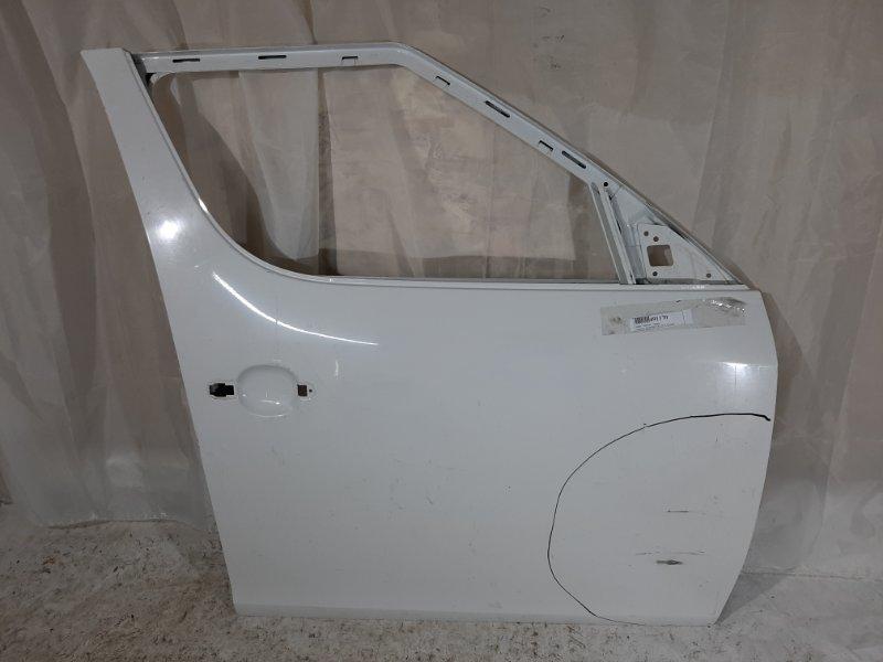 Дверь боковая Skoda Roomster 5J CBZB, CGGB, BXW, CFNA, BTS 2014 передняя правая