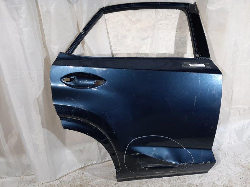 Дверь боковая Lexus Nx200, Nx200T, Nx300H AGZ10, AGZ15, AGZ15L, AYZ10, AYZ15, ZGZ10, ZGZ15, ZGZ15L 2AR-FXE, 3ZR-FAE, 8AR-FTS 2015 задняя