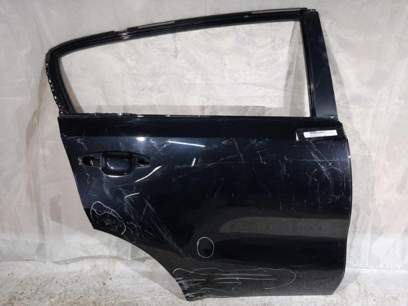 Дверь боковая Kia Sportage QL D4FD, D4HA, G4FG, G4FJ, G4KJ, G4NA 2017 задняя правая