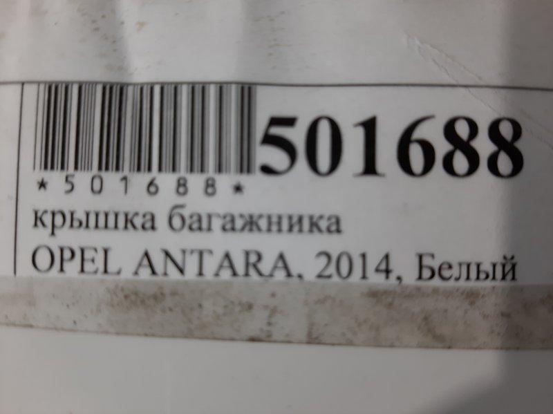 Дверь багажника Opel Antara 2017 задняя