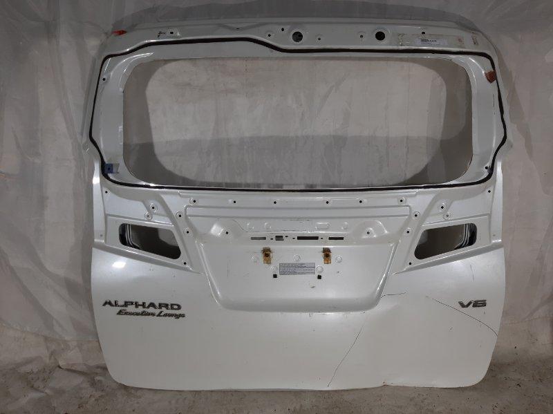Дверь багажника Toyota Alphard AGH30, AGH30W, AGH35, AGH35W, AYH30, AYH30W, GGH30, GGH30W, GGH35, GGH35W 2017 задняя