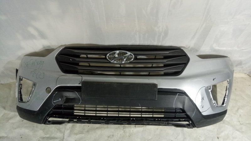 Бампер Hyundai Creta GS G4FG, G4NA 2018 передний