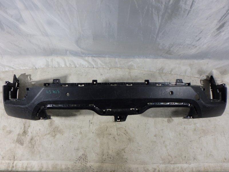 Накладка на бампер Hyundai Creta GS G4FG, G4NA 2017 задняя нижняя