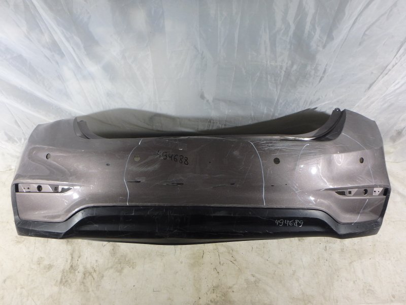 Бампер Hyundai Solaris HCR G4FC, G4LC, G4FG 2019 задний
