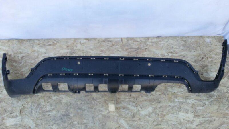 Накладка на бампер Kia Rio FB G4FG, G4LC 2018 задняя нижняя