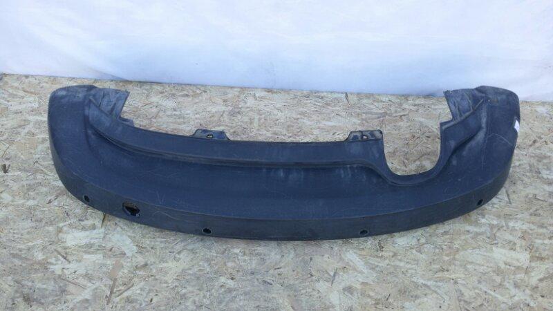 Накладка на бампер Chevrolet Captiva C140 2014 задняя нижняя