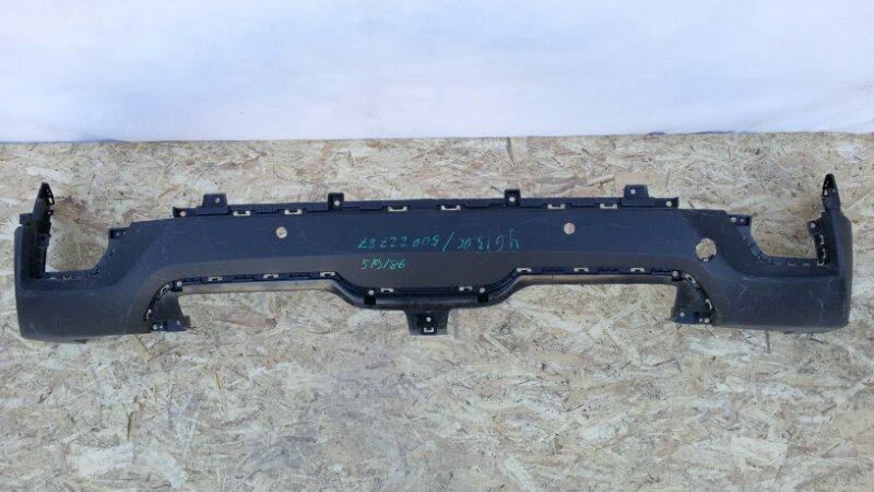 Накладка на бампер Hyundai Creta GS G4FG, G4NA 2019 задняя нижняя