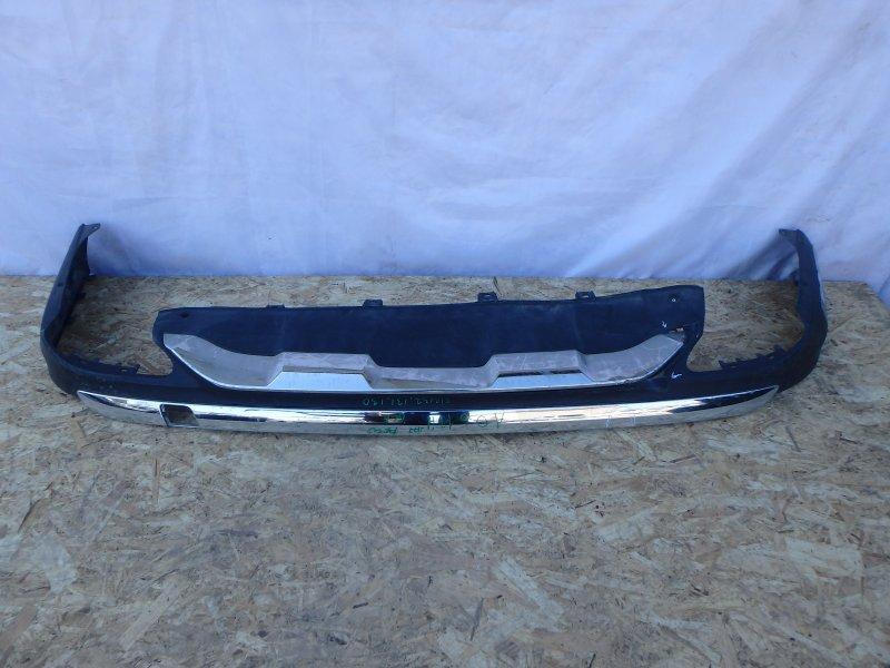 Накладка на бампер Mercedes-Benz Gle-Class X166 M157DE55LA, M276DE30LA, M276DE35, M651D22G4, OM642, M278DE46LA 2016 задняя нижняя
