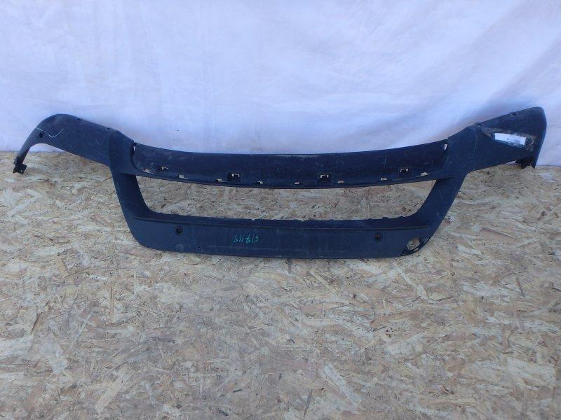 Накладка на бампер Bmw X5 E70 M57D30TU2, M57 2011 передняя