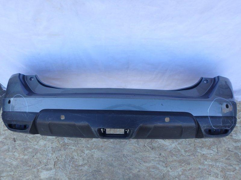 Накладка на бампер Nissan X-Trail T32 MR16DDT, MR20DD, QR25DE, R9M 2016 задняя