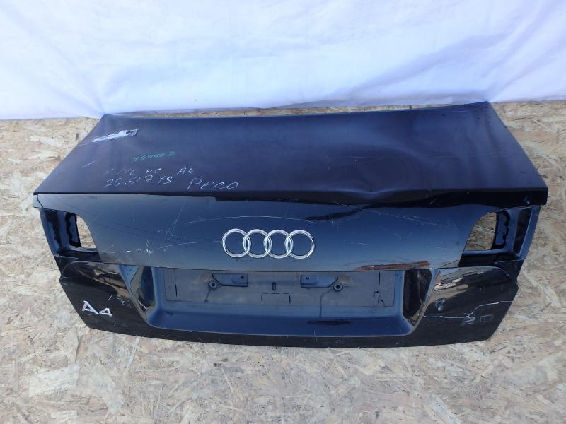 Крышка багажника Audi A4 8EC, 8ED ALT, ALZ, ASB, AUK, AWA, BBJ, BBK, BCZ, BDG, BFB, BGB, BHF, BKE, BKH, BKN, BLB, BMN, BNA, BNG, BPG,