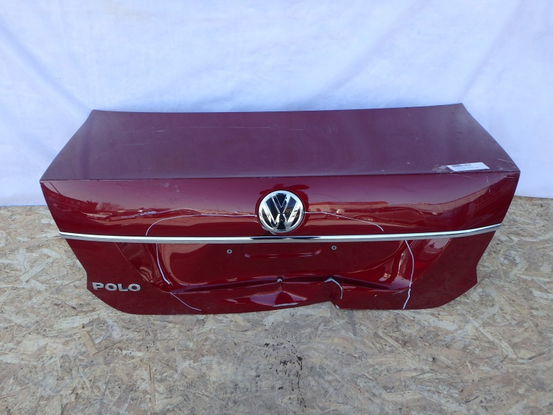 Крышка багажника Volkswagen Polo 601, 602, 603, 604, 612, 614, 6R1, 6C1 AWY, AZQ, BAD, BMM, BTS, CAYA, CAYB, CAYC, CBZA, CBZB, CDEA,