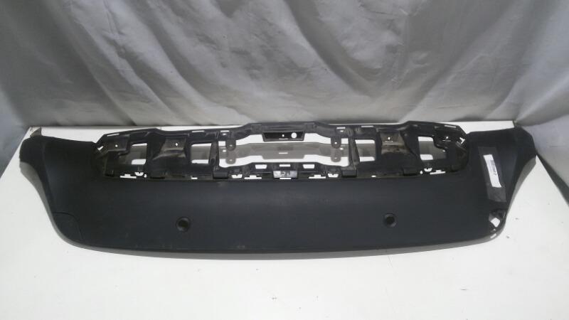 Накладка на бампер Bmw X6-Series E71, E72 M57D30TU2, N55B30, N57D30OL, N57D30TOP, N57S, N63B44, M57, 3 2010 задняя нижняя
