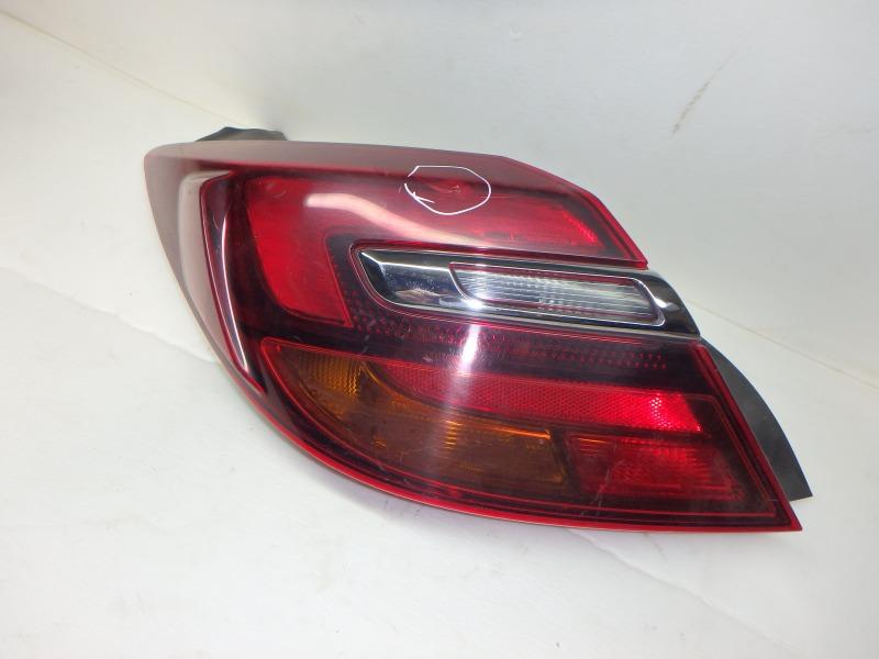 Задний фонарь Opel Insignia A A18XER 2014 задний левый