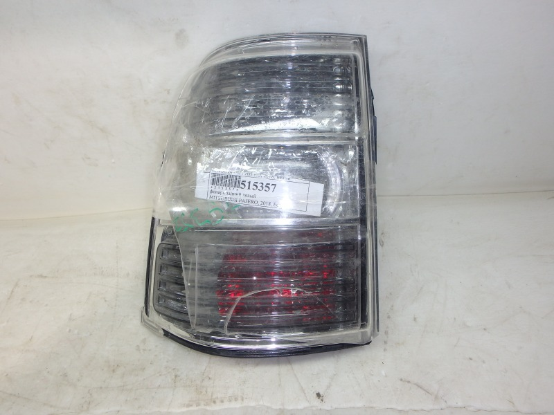 Задний фонарь Mitsubishi Pajero V93W, V95W, V96W, V97W, V98V, V98W 4M40, 4M41, 6G72, 6G74, 6G75 2018 задний левый