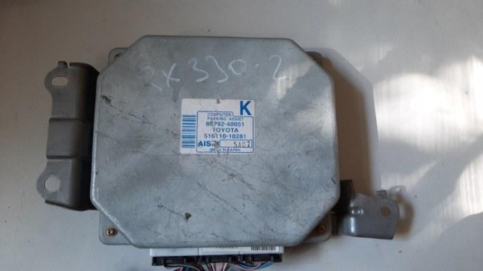 Блок управления парктроником Lexus Rx330 MCU38 3MZ 2005