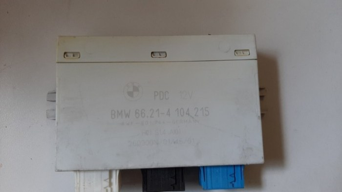 Блок управления парктроником Bmw X5 E53 M62B44TU 2001