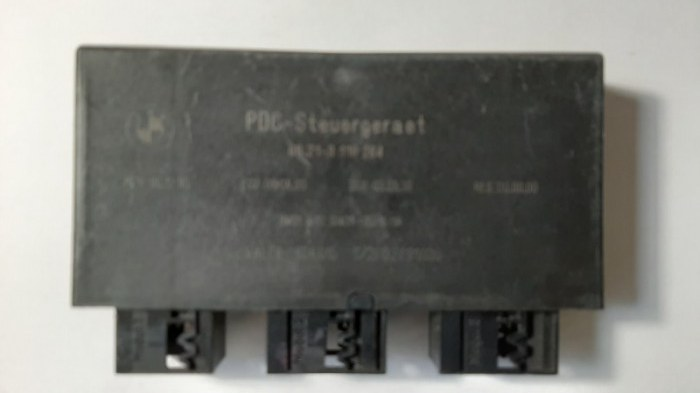 Блок управления парктроником Bmw 5-Series E60 N52B30 2006