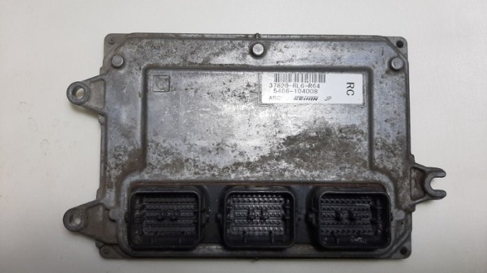 Блок управления двс Honda Accord CU2 K24Z3, 2,4 2012