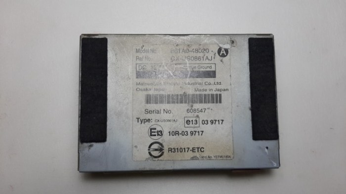 Блок управления Lexus Rx270 AGL10 1AR-FE 2012