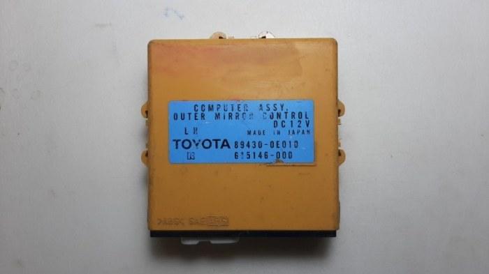 Блок управления зеркалами Lexus Rx330 MCU38 3MZ-FE 2004