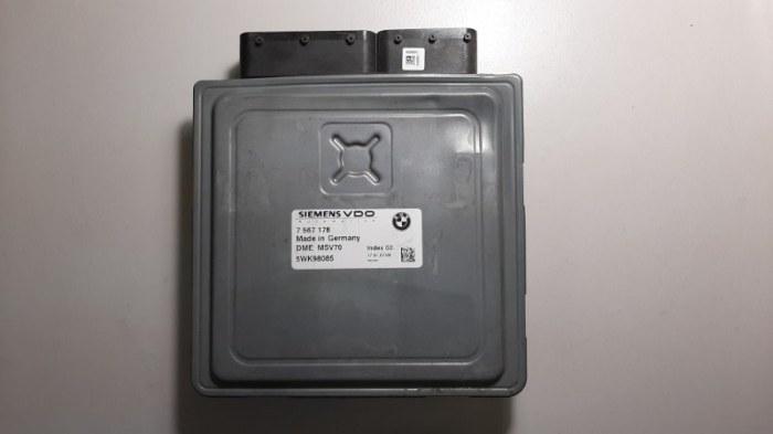 Блок управления двс Bmw 5-Series E60 N52B25A 2007