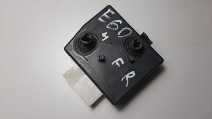 Блок управления сидением Bmw 5-Series E60 N52B25A 2007 передний правый