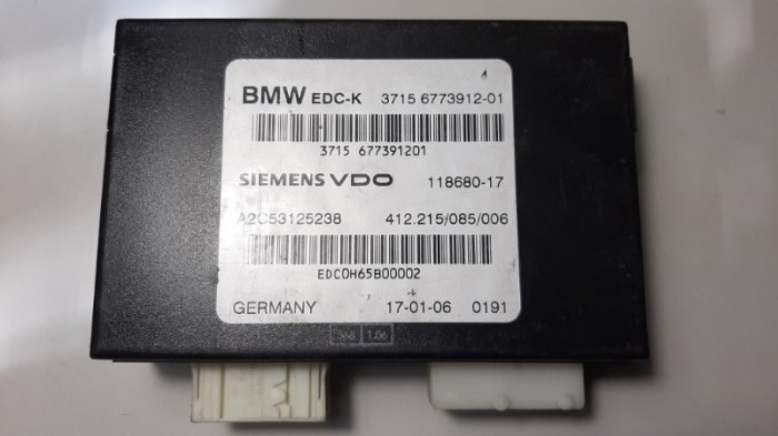 Блок управления подвеской Bmw 7-Series E66 N62B40A 2006