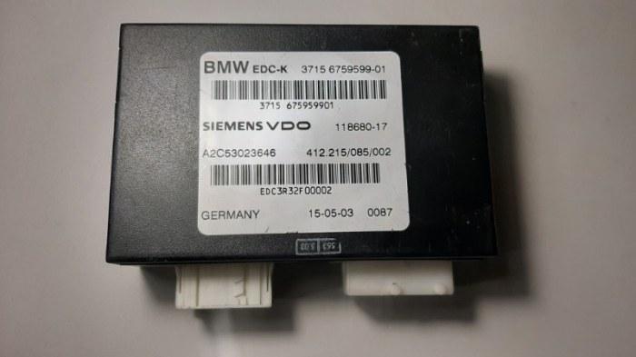 Блок управления подвеской Bmw 7-Series E65 N62B44A 2003