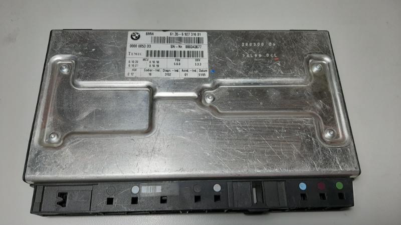 Блок управления сидением Bmw 7-Series E66 N62B40A 2006
