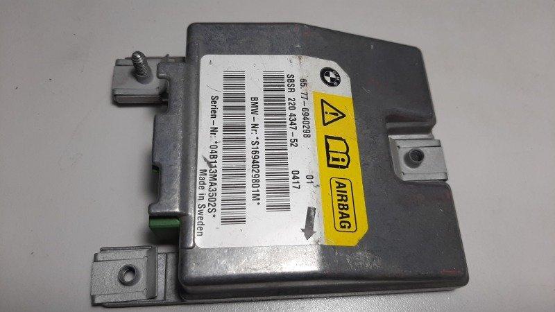Блок управления air bag Bmw 5-Series E60 N52B25A 2006