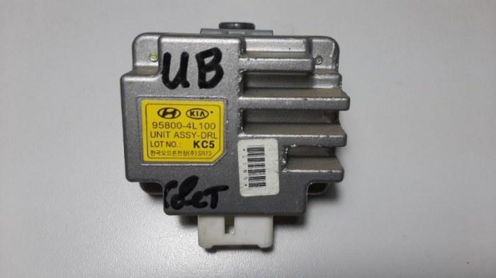 Блок управления светом Kia Rio UB G4FA 2015