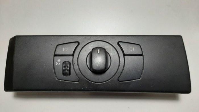 Блок управления светом Bmw 5-Series E60 N52B25A 2006