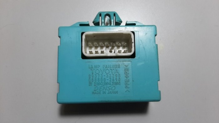 Блок управления светом Lexus Es300 MCV30 1MZFE 2002