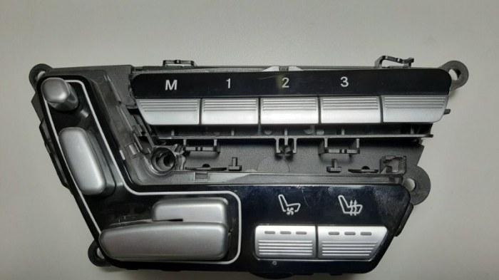 Блок управления сидением Mercedes-Benz S-Class W221 M273.961 2008 задний левый